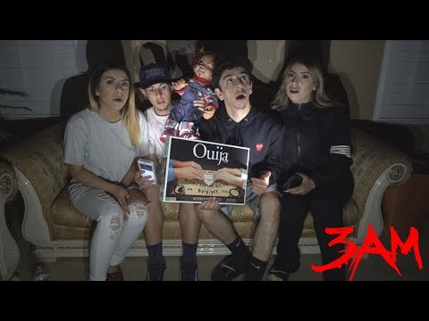 SCARY 3AM CHALLENGE IN MY OLD HAUNTED HOUSE!!