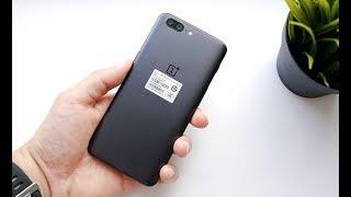 Обзор OnePlus 5: распаковка, экран и камера