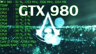 Assassin's Creed IV: Black Flag   ULTRA 4xTXAA   GTX 980 & i7 4790k(, 2015-01-26T08:43:35.000Z)