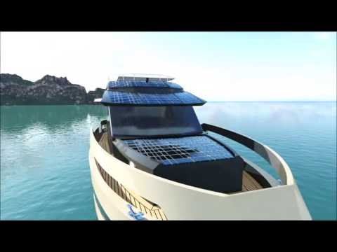 GN47 - GreeNaval / Hybrid Boats with electric motors and aluminum hull