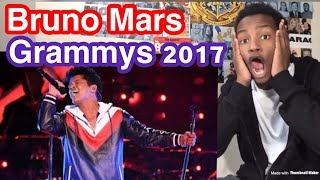 Bruno Mars - That's What I Like (LIVE From The 59th Grammys) Reaction