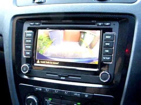 skoda octavia vrs rear view camera and columbus navigation. Black Bedroom Furniture Sets. Home Design Ideas