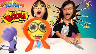 BOOM BOOM BALLOON Game Review with Clappy | DON'T POP IT CHALLENGE