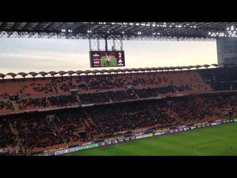 Milan-Atalanta 3-0 (6-1-2014) Kakà amazing goals, in diretta dal 2° anello rosso
