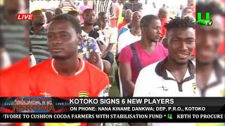 Kotoko Signs 6 New Players