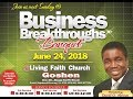 Business Breakthroughs Banquet ( 1st Service ) June 24, 2018