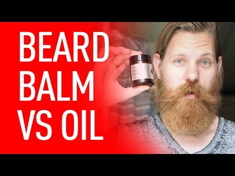 The Difference Between Beard Oil and Beard Balm