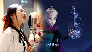 Let It Go (Cover by J.Fla) [Lyrics in English] .