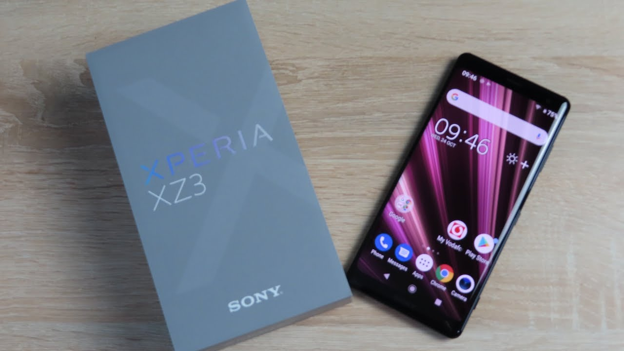 How To Insert Sim Sd Card Into Sony Xperia Xz3 Youtube