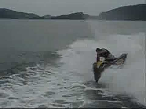 Jet Ski Diving