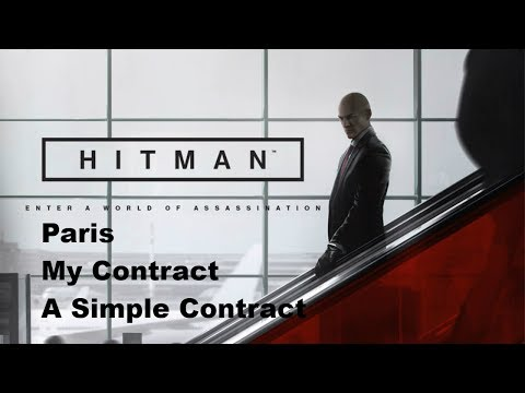 Hitman   My Contract - A Simple Contract