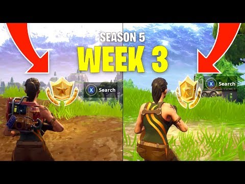 Fortnite Season 5 Week 3 Secret Battle Star Locations