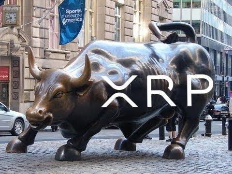Ripple XRP Wall Street Bull Stampede