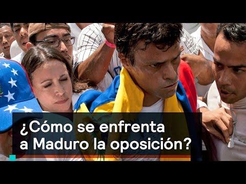¿Cómo se enfrenta a Maduro la oposición? - Foro Global