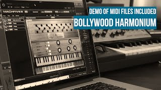 Bollywood Harmonium demo of included MIDI files