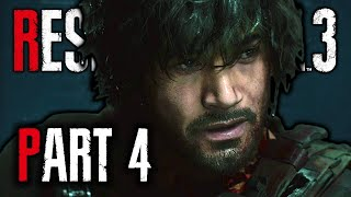 Resident Evil 3 Remake Gameplay – Part 4 | CARLOS, BRAD & THE STARS OFFICE | RE3 Nemesis Walkthrough