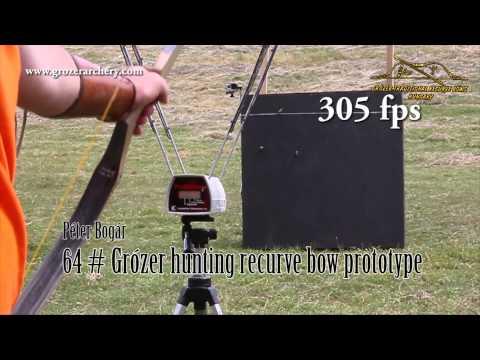 Speed Test-Grózer Hunting Recurve Bow 2015 06 20
