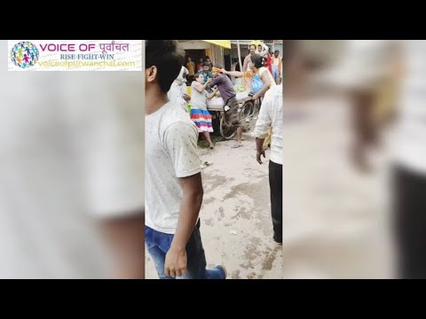 मोहनिया बाजार में किन्नरों की गालिगलौच और मारपिट का विडियो वायरल