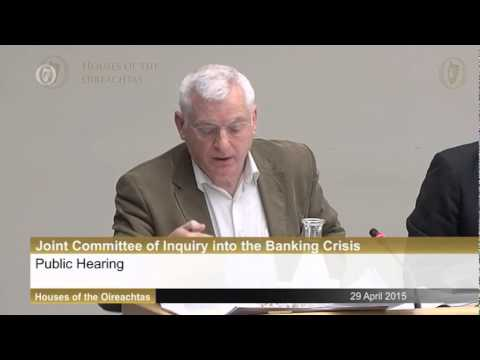 Banking Inquiry: Joe Higgins questions Michael Buckley & Eugene Sheehy of AIB