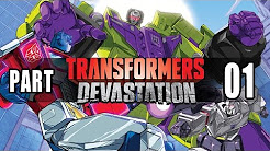 Let's Play Transformers Devastation Gameplay German Deutsch Walkthrough PS4