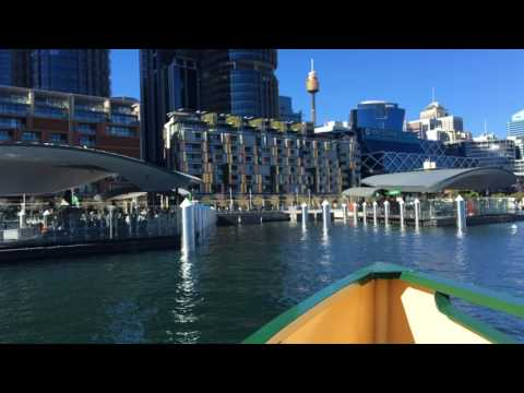 Take a ride on the new ferry to Barangaroo