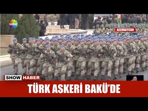Türk askeri Bakü'de
