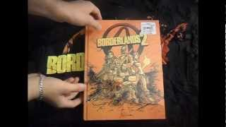 Borderlands 2: Limited Edition Strategy Guide UNPACKING