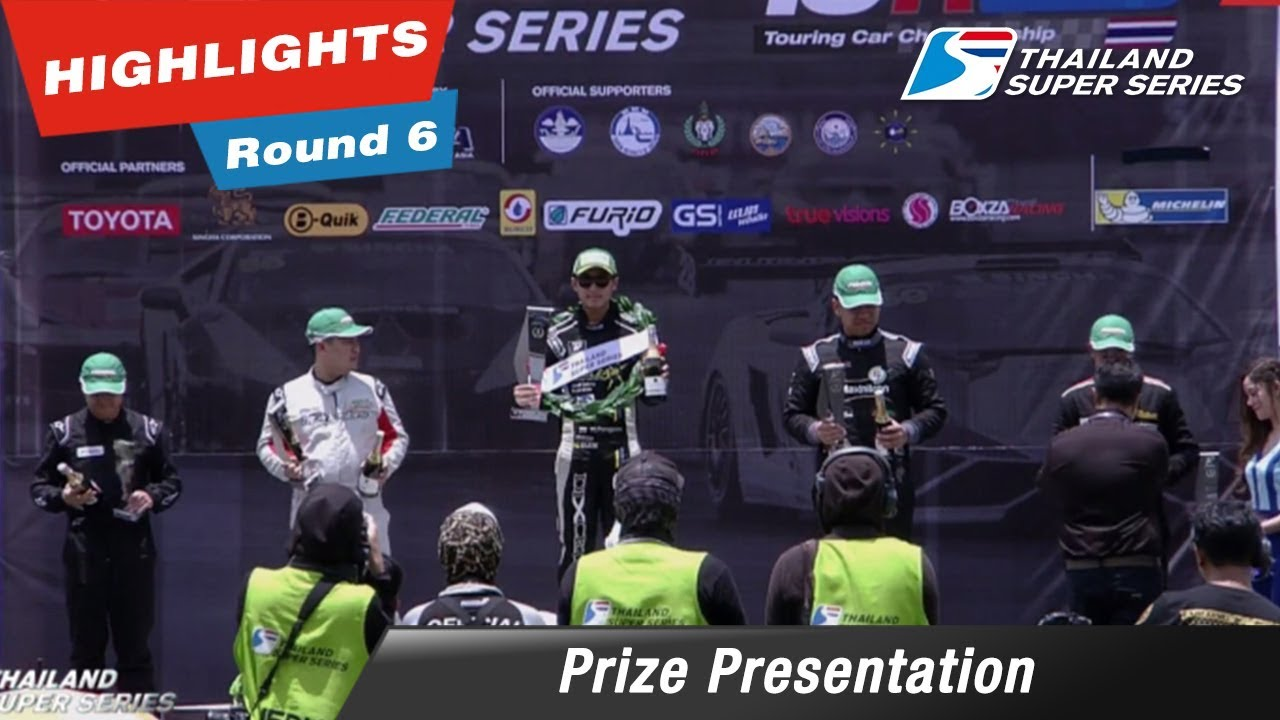 Prize Presentation Thailand Super Series 2017 : Round 6 @Chang International Circuit
