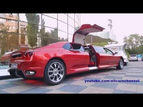 replica ferrari f430 limousine. peugot 406 coupe base. - youtube