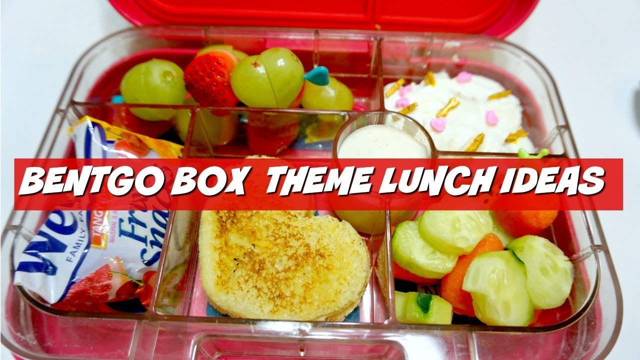 Bentgo Box Style Valentines Day Theme Lunch Ideas Youtube