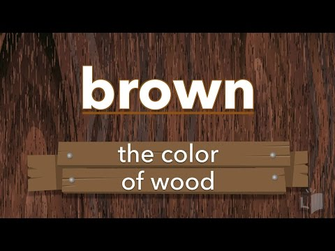 Sight Word Video: brown