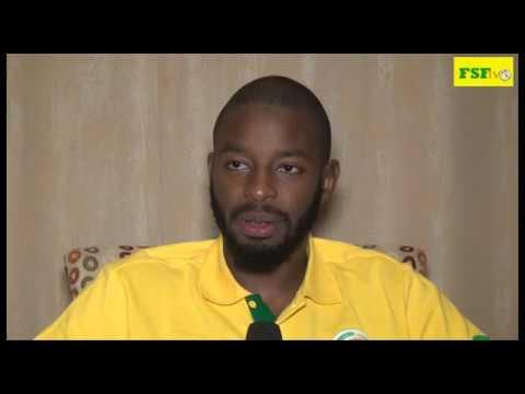 """Abdoulaye DIALLO Gardien de but des lions """"On est en confiance"""""""""""