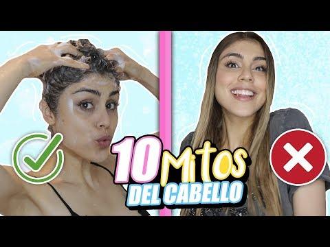 10 MITOS sobre EL CABELLO! (Tips para que brille) - Pautips