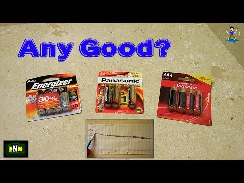 Expensive Energizer Battery Vs Cheap Dollar Store Batteries!