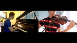 Naruto - Shitsui/Despair (Piano & Violino) + Partitura para violino / Violin Sheet