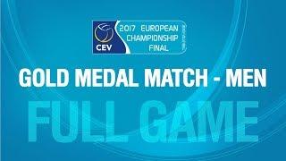 Samoilovs/Smedins LAT vs Lupo/Nicolai ITA   Men's Gold Medal Match   #EuroBeachVolley 2017
