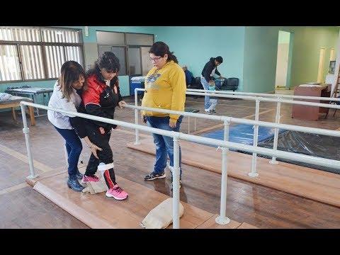 Los pacientes del Centro de Rehabilitación del Avellaneda reciben una atención integral