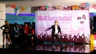 140216 ODD EYES - TROUBLE MAKER (Trouble maker + Ratata + Now) @Korean First Love Festival