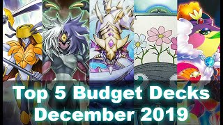 Top 5 Best Competitive Budget/Free to Play Decks December 2019 (Yu-Gi-Oh! Duel Links)
