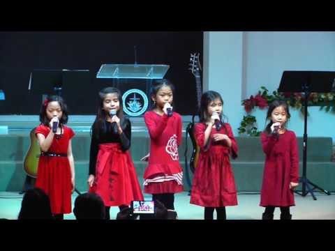 Children Christmas Song - Little Drummer Boy English and Vietnamese lyrics