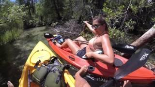 Kayaking - VLOG #206- Kayaking- The Coolest Kayak Paddling Trip Ever!