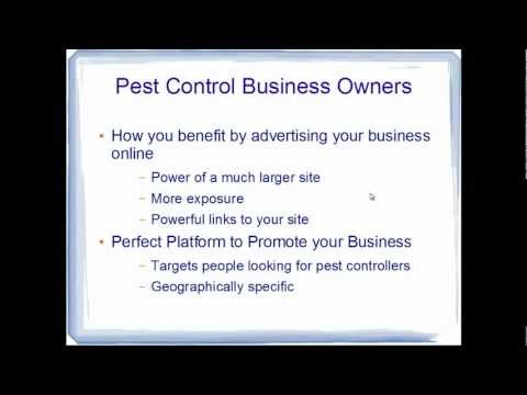 Advertise your business on Pest Control Professionals Directory
