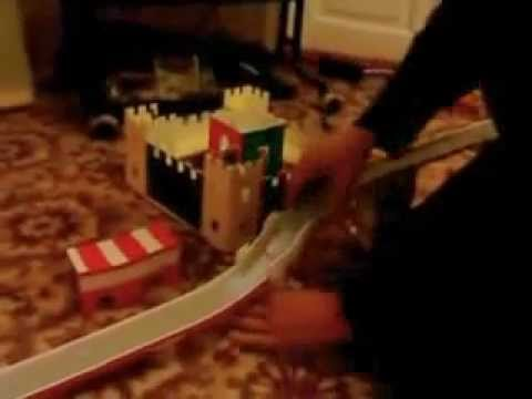 how to make a homemade hot wheels track