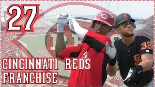 MLB The Show 18 Cincinnati Reds Franchise Ep. 27: Youngsters MASH!