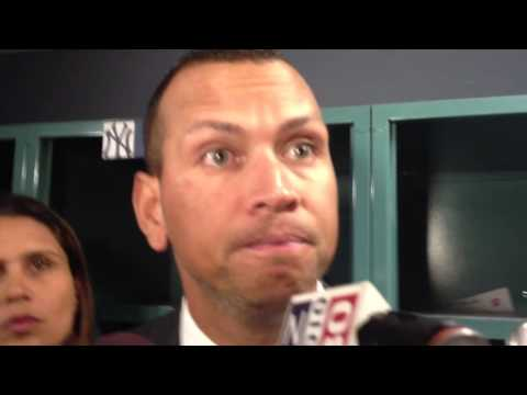 Alex Rodriguez pissed off he was hit by Ryan Dempster