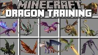 Minecraft DRAGON MOD / TRAINING YOUR MEDIEVAL DRAGONS IN MINECRAFT!! Minecraft
