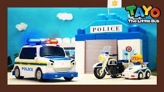 Мощные большегрузные автомобили l Полицейская машина и полицейский участок l Приключения Тайо