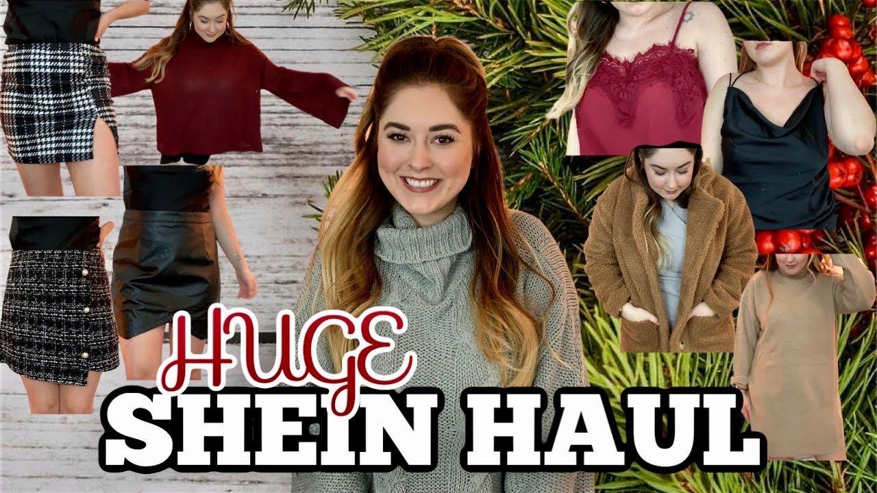 [VIDEO] - HUGE SHEIN WINTER HAUL 2019 pt. 1   SHEIN UNBOXING   Amanda Claypool 2