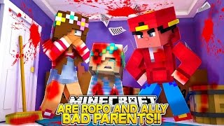 Minecraft Adventure - ARE ROPO & ALLY BAD PARENTS?!!!