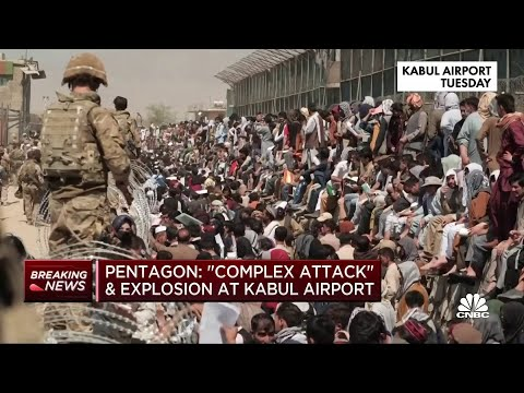 Explosions near Kabul airport a 'complex attack': Pentagon